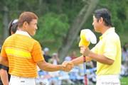 2009年 VanaH杯KBCオーガスタゴルフトーナメント3日目 丸山茂樹&伊澤利光