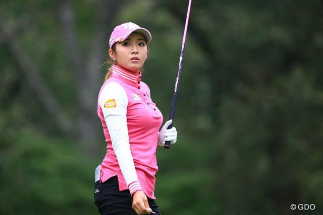 2016年 日本女子プロゴルフ選手権大会コニカミノルタ杯 初日 イ・ボミ スコアカードに記されたのはボギーが1つ。セーフティなゴルフで初日を終えたイ・ボミ
