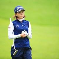 いよいよ実力発揮かな?相変わらずフォトジェニック 2016年 日本女子プロゴルフ選手権大会コニカミノルタ杯 初日 森美穂