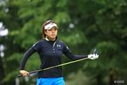 2016年 日本女子プロゴルフ選手権大会コニカミノルタ杯 初日 篠原まりあ