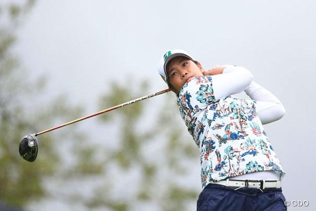 2016年 日本女子プロゴルフ選手権大会コニカミノルタ杯 2日目 濱田茉優 首位と1打差の2位キープ。濱田茉優は好位置で決勝へ