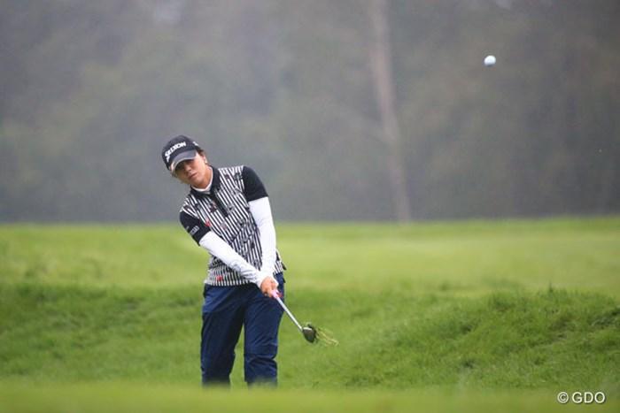 ラフに入ったら出すだけが正解 2016年 日本女子プロゴルフ選手権大会コニカミノルタ杯 2日目 下川めぐみ