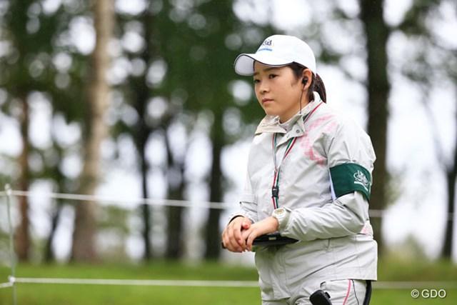 2016年 日本女子プロゴルフ選手権大会コニカミノルタ杯 2日目 仲宗根澄香 今大会では選手じゃありません。ルーキーキャンプでスコアラー