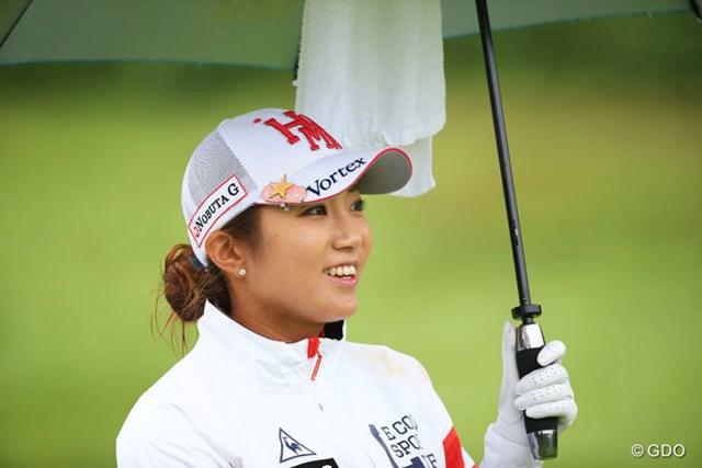 2016年 日本女子プロゴルフ選手権大会コニカミノルタ杯 2日目 イ・ボミ ボミちゃんはこうでないとね