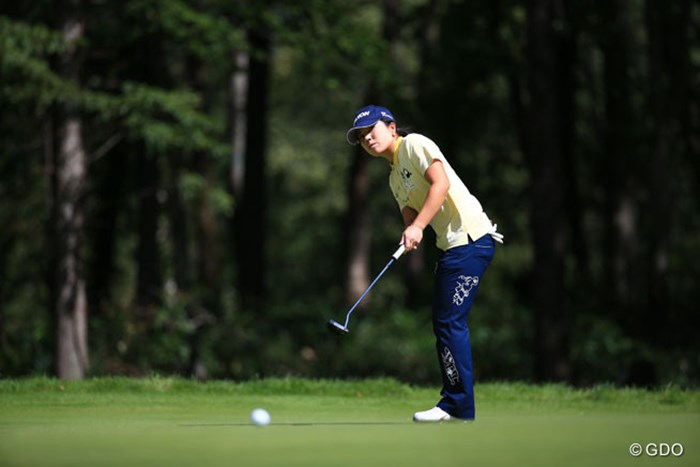 きのうのトップも前半いいところなし 2016年 日本女子プロゴルフ選手権大会コニカミノルタ杯 3日目 下川めぐみ