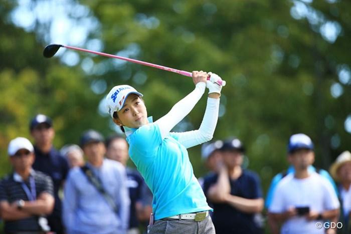 1ダボ7ボギー打って後退です 2016年 日本女子プロゴルフ選手権大会コニカミノルタ杯 3日目 森美穂