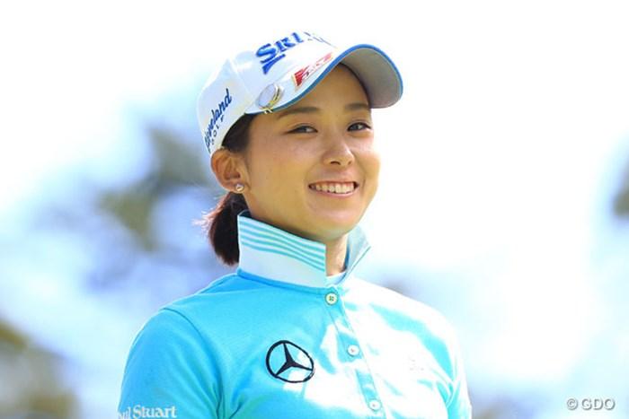 アイコンタクト 2016年 日本女子プロゴルフ選手権大会コニカミノルタ杯 3日目 森美穂