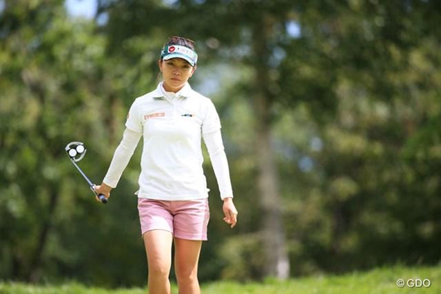 2016年 日本女子プロゴルフ選手権大会コニカミノルタ杯 最終日 テレサ・ルー 優勝の期待が大きかっただけにね