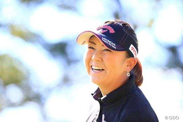 2016年 日本女子プロゴルフ選手権大会コニカミノルタ杯 最終日 佐伯三貴 広島カープが25年ぶりにリーグ優勝を決めカープファンのミキティも大喜び