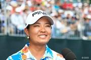 2016年 日本女子プロゴルフ選手権大会コニカミノルタ杯 最終日 鈴木愛