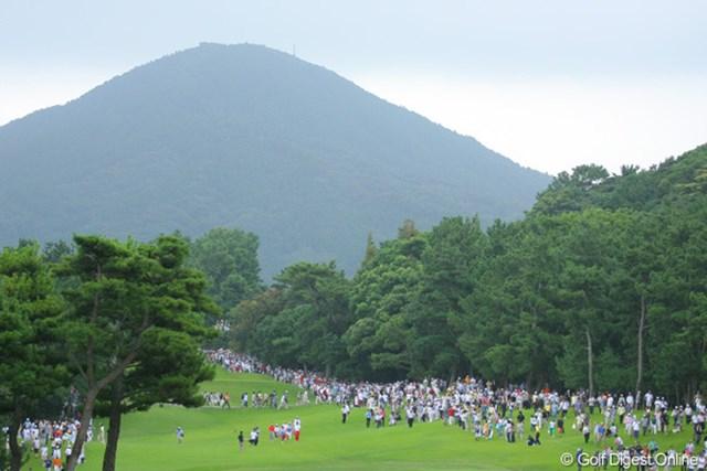 最終日は9,158人もの大ギャラリーが会場を埋めつくした