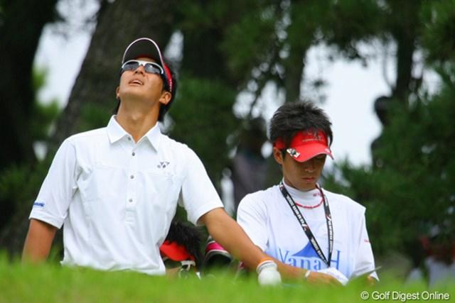 「僕のボールどこまで飛んでいったのかなぁ」ではなく、風向きを慎重に見極める石川遼