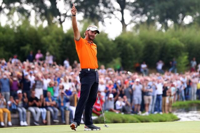 オランダ勢として初の同一大会2勝目を飾ったJ.ラウテン(Dean Mouhtaropoulos/Getty Images)