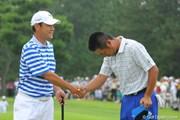 2009年 VanaH杯KBCオーガスタゴルフトーナメント最終日 池田勇太&今野康晴