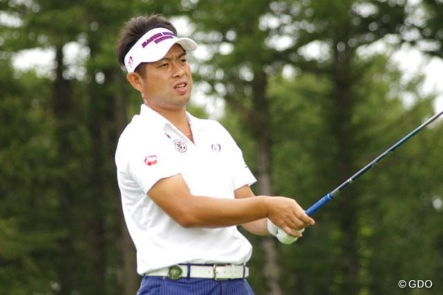 2016年 ANAオープンゴルフトーナメント 事前 池田勇太 開幕前日のプロアマ戦に出場した池田勇太。今週もハウスキャディを起用する