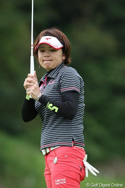 2009年 ヨネックスレディスゴルフトーナメント最終日 廣瀬友美 トータル8アンダーと大健闘