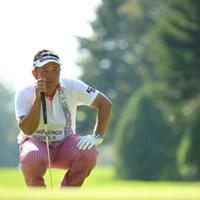 ボギーが止まらなくなってしまい予選落ち。 2016年 ANAオープンゴルフトーナメント 2日目 小田龍一