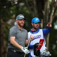 あご髭コンビ。 2016年 ANAオープンゴルフトーナメント 3日目 アダム・ブランド