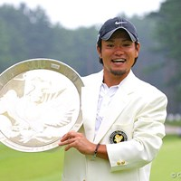 昨年、涙の初優勝を果たした藤島豊和 2008年 フジサンケイクラシック 藤島豊和