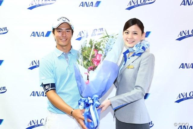 2016年 ANAオープンゴルフトーナメント 3日目 石川遼 本日お誕生日。遼くんおめでとう。CAさん綺麗。
