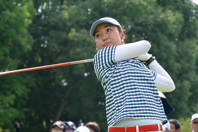 今季2勝目に大きく前進した小林咲里奈 ※大会提供写真