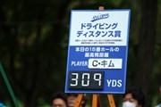 2016年 ANAオープンゴルフトーナメント 最終日 ボード