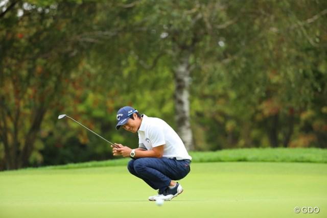 2016年 ANAオープンゴルフトーナメント 最終日 石川遼 とってもくやしい図。