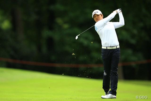 野村敏京はフランスでメジャー自己最高位を記録した※画像は2016年全英リコー女子オープン