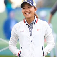 ナイスゴルフで笑顔も弾けてます 2016年 ミヤギテレビ杯ダンロップ女子オープン 初日 吉野茜