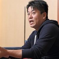 スポーツビジネスの可能性を語る堀江氏 堀江貴文