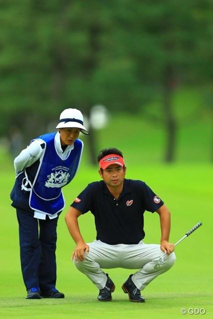 2016年 アジアパシフィック選手権ダイヤモンドカップ 3日目 池田勇太 連続ダボだけが悔やまれます。