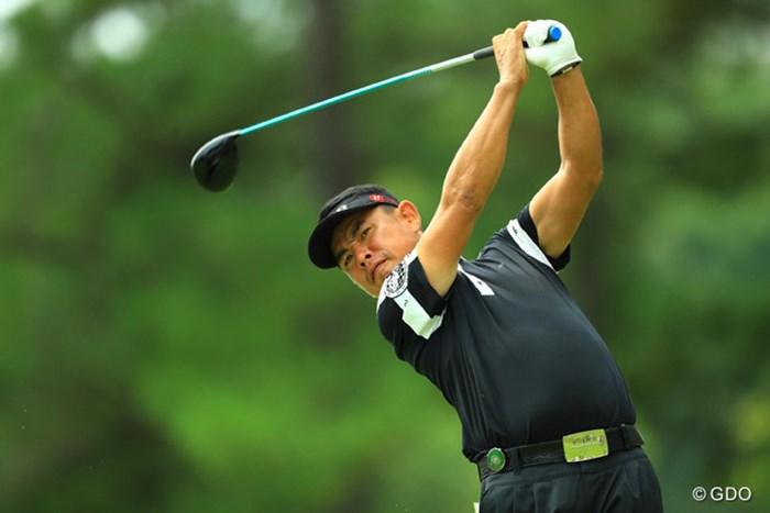 ベテランらしい我慢のゴルフで9位タイに浮上です。 2016年 アジアパシフィック選手権ダイヤモンドカップ 3日目 平塚哲二