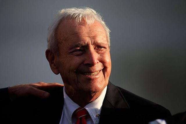 アーノルド・パーマーが死去。ビッグ3として人気を博した(Chris Trotman/Getty Images)