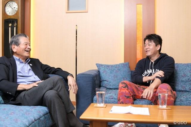 川淵氏と堀江氏。価値観が似ていて、気が合うんでしょうね。
