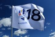 2016年 ライダーカップ 最終日 ヘーゼルティンナショナルGC