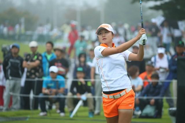 2016年 日本女子オープンゴルフ選手権競技 初日 森田遥
