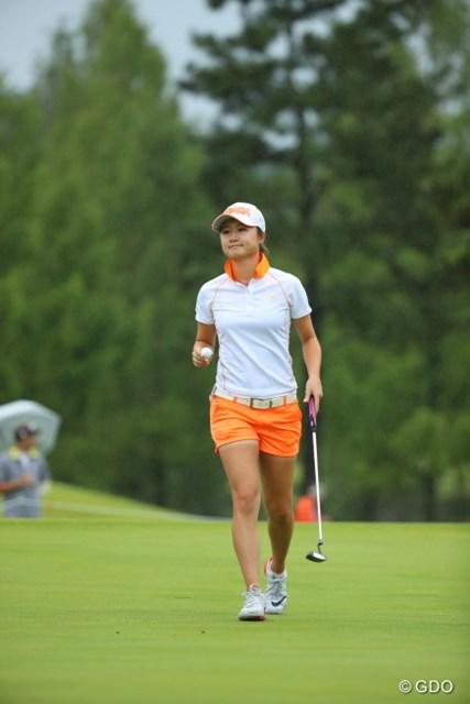 2016年 日本女子オープンゴルフ選手権競技 初日 森田遥 首位は想定外?森田遥が3アンダー単独首位で滑り出した