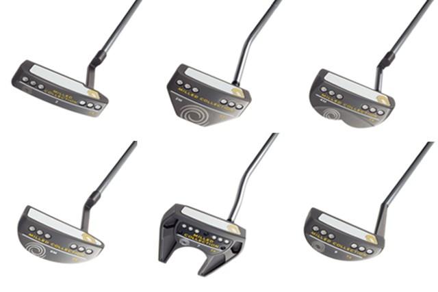 オデッセイ ミルド・コレクションTX パター 「ミルド・コレクションTX パター」 ヘッド形状は全6種類から好みで選べる
