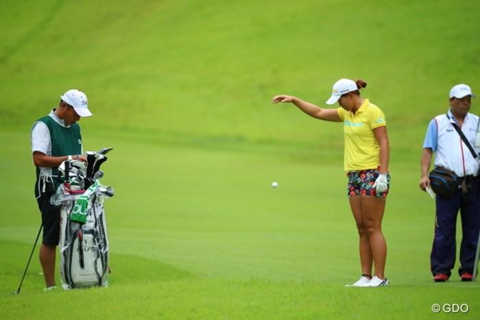 Mrマリックかと思ったわい。 2016年 日本女子オープンゴルフ選手権競技 初日 山本景子