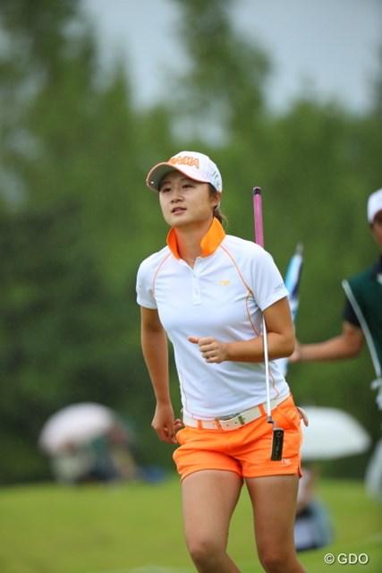 2016年 日本女子オープンゴルフ選手権競技 初日 森田遥 単独トップで初日終了!
