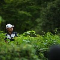 出すだけは出せた。それでもすごいけど。 2016年 日本女子オープンゴルフ選手権競技 初日 森井菖