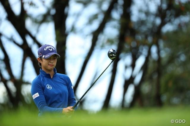 2016年 日本女子オープンゴルフ選手権競技 初日 柏原明日架 なかなか面白フェイス。