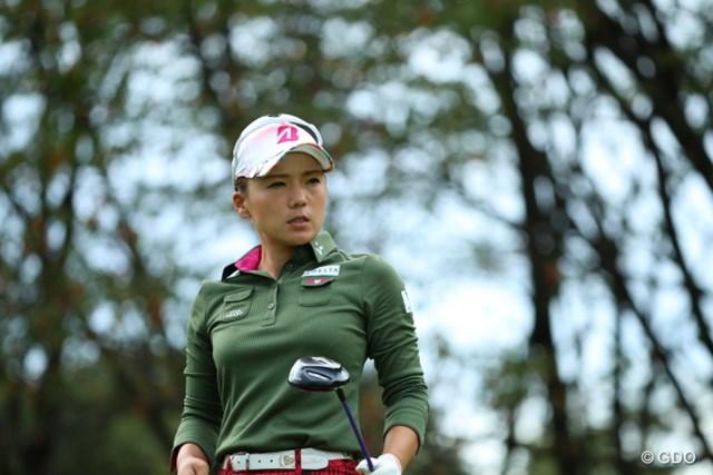 2016年 日本女子オープンゴルフ選手権競技 初日 有村智恵 常に遊びがないストイックな感じ。