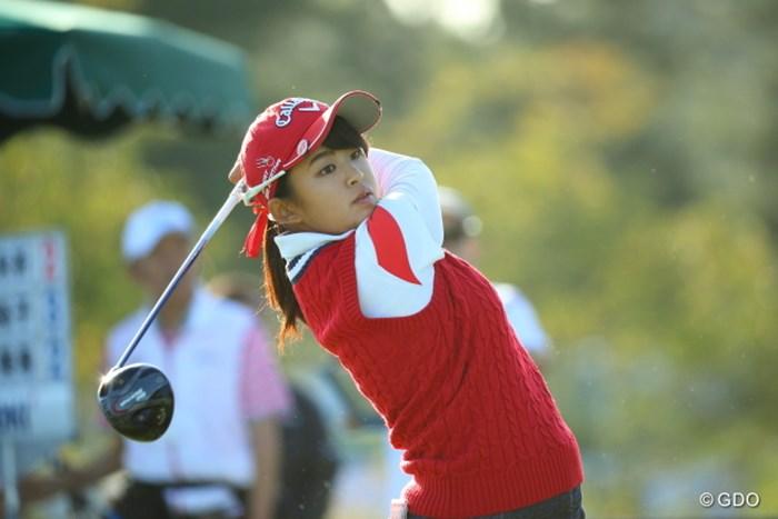 アマチュアの長野は2日連続の「69」。堂々のトップ争いを繰り広げながら週末へ 2016年 日本女子オープンゴルフ選手権競技 2日目 長野未祈