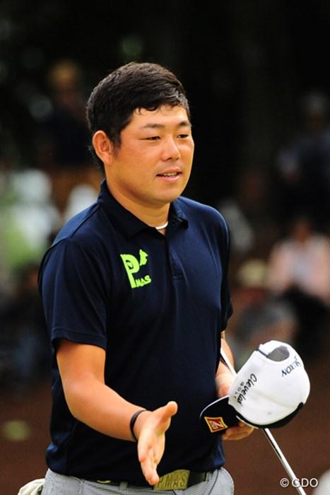 アジア2位の本領発揮(?)で、3つ伸ばして5位タイの好位置へ。 2016年 トップ杯東海クラシック 2日目 小池一平