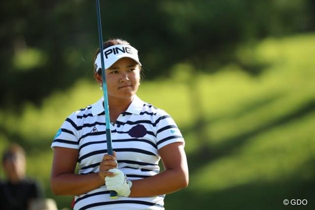 2016年 日本女子オープンゴルフ選手権競技 2日目 鈴木愛 「まだ優勝のチャンスはある」4打差4位で決勝ラウンドに進んだ鈴木愛