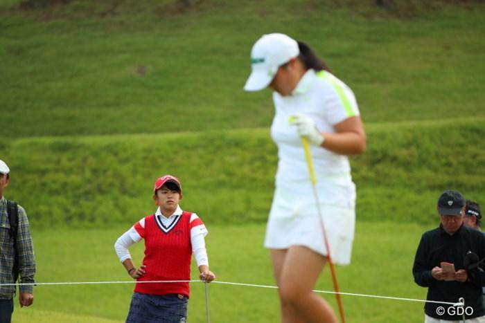 他のアマチュアプレーヤーはどう目に映ったのだろう。 2016年 日本女子オープンゴルフ選手権競技 2日目 @長野未祈