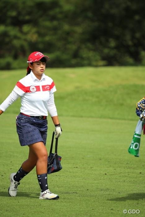 おかいものーおかいものー! 2016年 日本女子オープンゴルフ選手権競技 2日目 @長野未祈