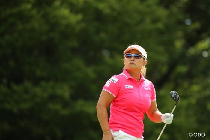 いい色してまんな。そのウェア。 2016年 日本女子オープンゴルフ選手権競技 2日目 馬場ゆかり