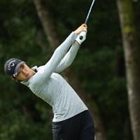運動神経を交換してほしい。 2016年 日本女子オープンゴルフ選手権競技 2日目 柏原明日架